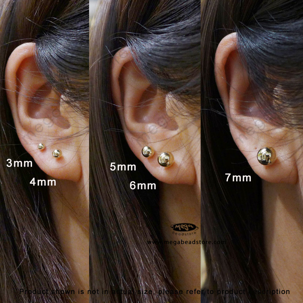 earrings wg in women earring flower gold with white stud nl jewelry diamond for