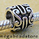 B194 Bali Sterling Silver Bead  8mm