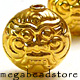 B209V (Demon God) Vermeil Bead   12mm