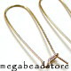 F195GF- Long Gold Filled Kidney Earwires   35mm   2 pcs