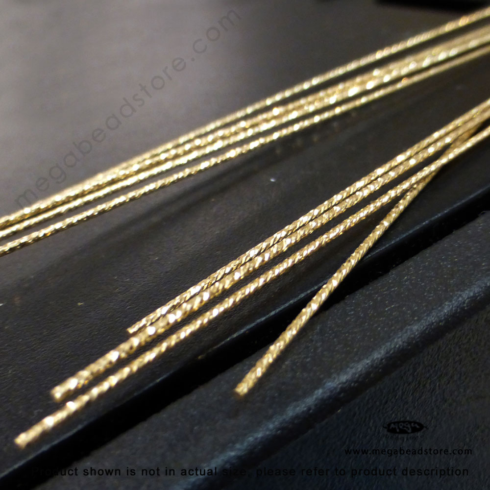 Sparkle 20.5 Gauge Yellow Gold Filled Wires HH - 1 Ft
