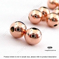 5mm Rose Gold Filled Seamless Beads (B39RGF)  10 pcs
