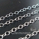 3mm x 2.2mm Sterling Silver Loose Chain (CH53)   1 ft