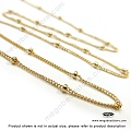14/20 Gold Filled 1.9mm Bead Satellite Chain  (CH79)