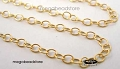 2.5 x 2mm Gold Filled Loose Chain   Per foot