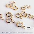 5mm 14K Gold Filled Spring Ring Clasp  20 pcs