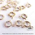 6mm 14K Gold Filled Spring Ring Clasp  10 pcs