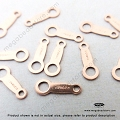 14/20 Rose Gold Filled Quality Tag  (F287RGF)- 20 pcs