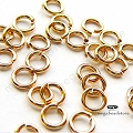 4mm 20 Gauge Gold Filled Jump Rings Open - 50 pcs