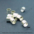 3mm Sterling Silver Crimp Tube (F32)- 50 pcs