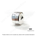 7mm Sterling Silver Magnetic Clasp  (F75)