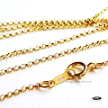 16 in 1.1mm Rolo Chain 14K Gold Filled Finished Chain