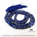 3mm Blue Lapis Faceted Rondelle Beads   13 in. str