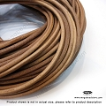 4mm Natural Greek Leather Cord - 5 ft