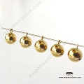 6mm Plain Round Ball Drops 14K Gold Filled Charms (F01GF) - 1 pc