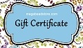 Gift Certificated $50