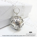 16mm Harmony Ball Bali Sterling Silver Pendant (P85)