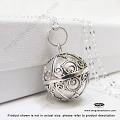 16mm Harmony Ball Bali Sterling Silver Pendant (P86)