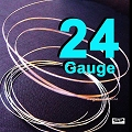 24 Gauge  Sterling Silver Round Wires Dead Soft DS - 10 Ft