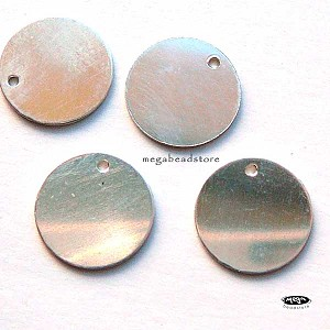 11mm Sterling Silver 24 Gauge Blank  Disc
