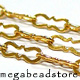 3.5 x 1.5mm Gold Filled Loose Chain  (CH16SM)  Per foot