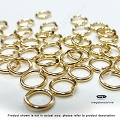6mm 19 Gauge Gold Filled Jump Rings Open -10 pcs