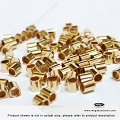 2mm 14K Gold Filled Crimp Tube Beads - 25 pieces