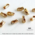 1.5mm (fits 1.5mm cord) 14K Gold Filled Leather End Cap (F431GF) - 1pc