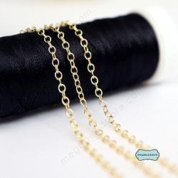 2mm x 1.6mm Cable Chain 14k Gold Filled - CH69