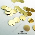 8mm 14K Gold Filled (0.3mm Thick) Plain Disc Charm (F164GF) - 1pc