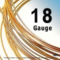 18 Gauge Half Hard (HH) 14K Rose Gold Filled Wires- 1 ft