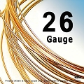 26 Gauge Half Hard (HH) 14K Rose Gold Filled Wires- 1 ft